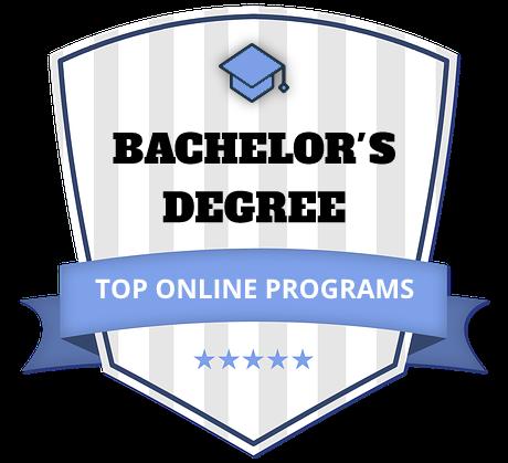 Top online programs ranking seal