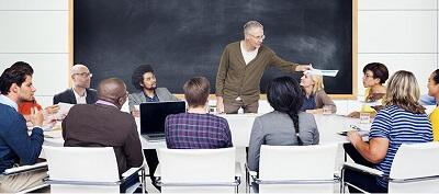 Administration school - classroom example