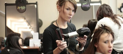 Aesthetic school - hairdressing example