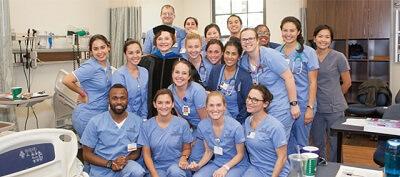 Nursing schools - nursing class for example