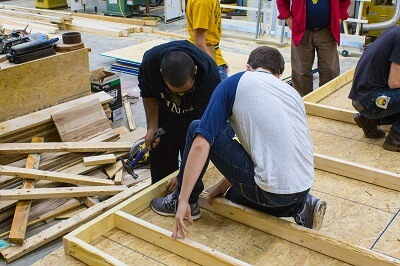 Carpentry demand is increasing in recent years due to the population growth - more houses needs to be built