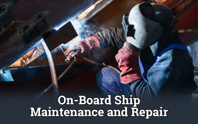On-Board Ship Maintenance and Repair