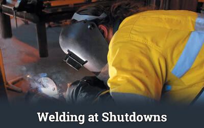 Welding at Shutdowns