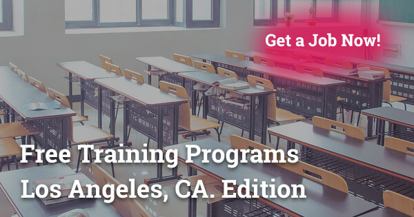 free training programs in Los Angeles CA