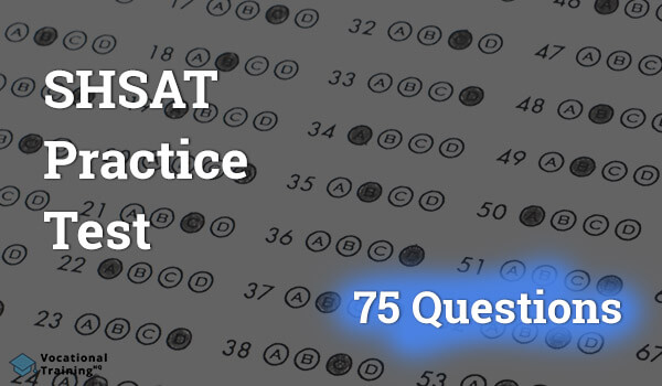 SHSAT Practice Test