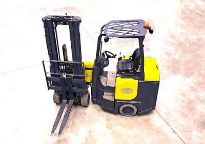 Free Forklift Training in Detroit