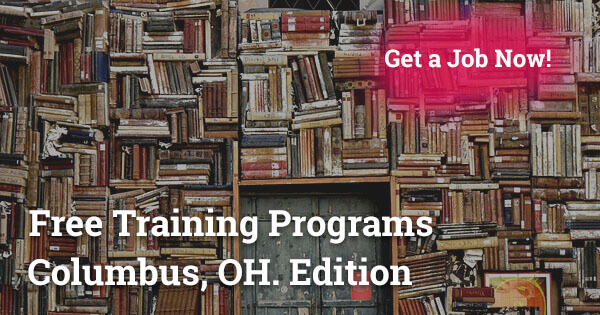 Free Training Programs in Columbus, OH