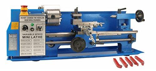 Erie Tools SP2102 Benchtop Mini Metal Lathe