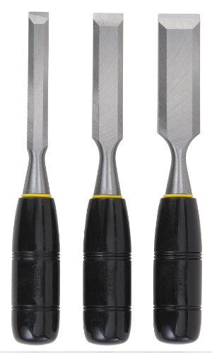 Stanley 16-150 3-Piece Wood Chisel Kit