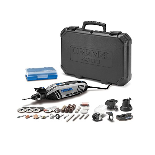Rotary Tool with a Grout Removal Accessory (Dremel 4300-5/40 Tool Kit)