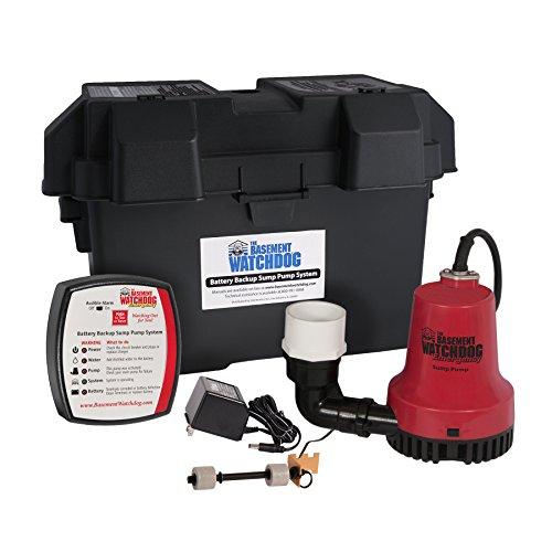 Basement Watchdog BWE 1000 Sump Pump System