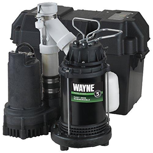 WAYNE Pre-Assembled Battery-Backup Sump Pump