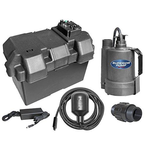 Superior Pump 92900 Battery Backup Sump Pump