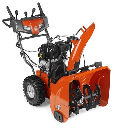 Husqvarna ST227P, 27 in. 254cc Two-Stage Gas Snow Blower with Power Steering