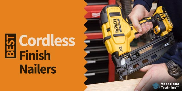The Best Cordless Finish Nailers for 2021