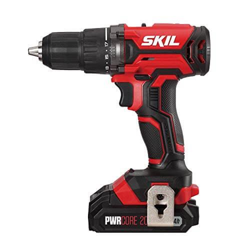 SKIL DL527502 20V Cordless Drill Driver Battery Kit