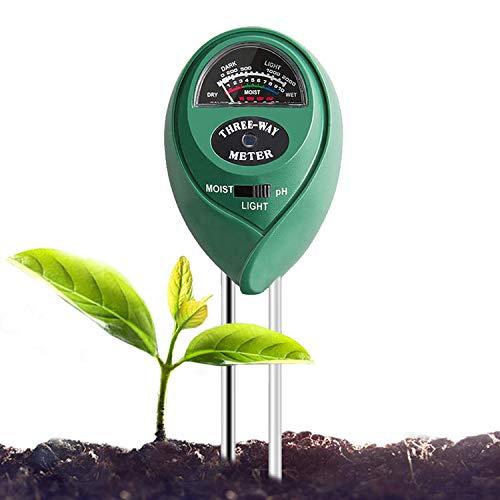 VIVOSUN Soil Tester, 3-in-1 Plant Soil Moisture Meter