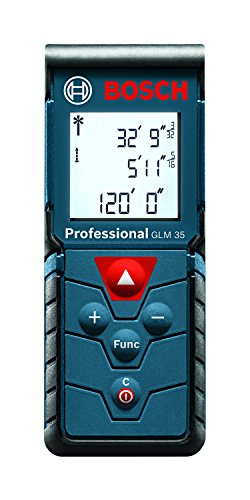 Bosch GLM 35 Laser-Distance Digital Tape Measure