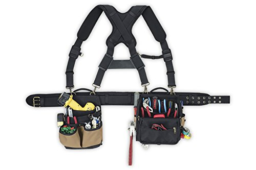 CLC Custom Leathercraft 1608 Tool-belt for Electricians