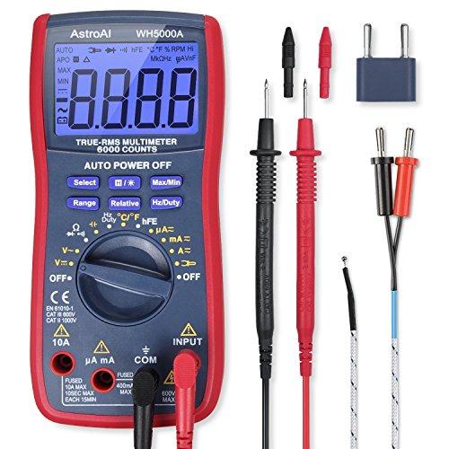 AstroAI 759974998225 Budget Multimeter