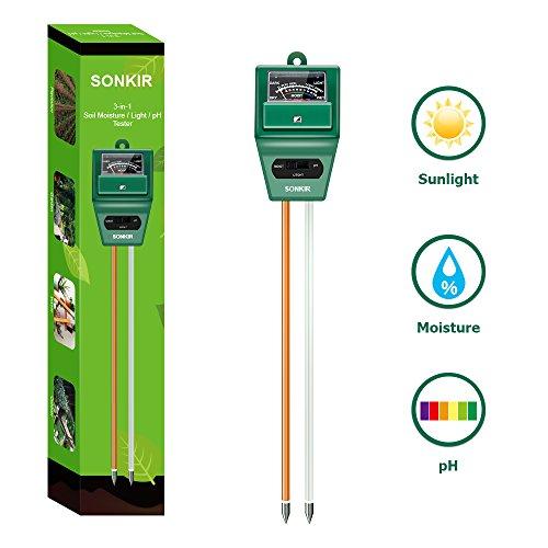 Sonkir pH Soil Moisture Meter