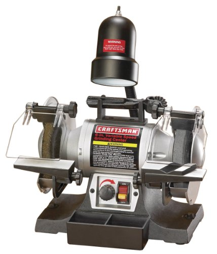 Craftsman 9-21154 Bench Grinder with Variable Speed