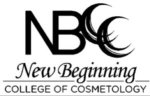 New Beginning College of Cosmetology logo