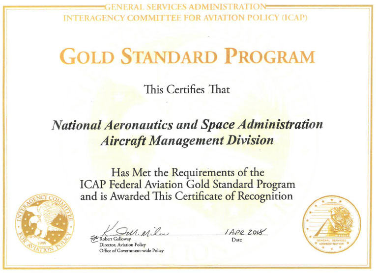 aviation manager certification