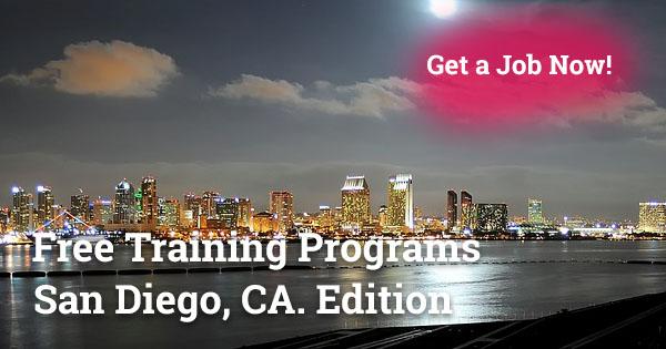 Free Training Programs in San Diego, CA