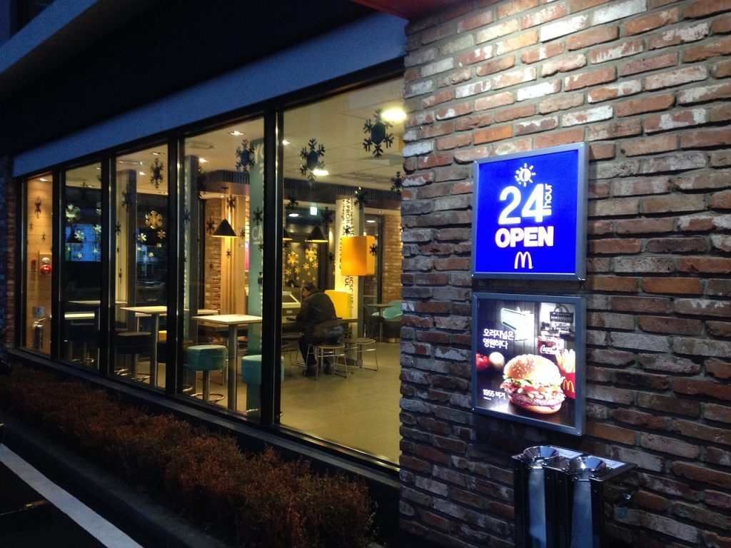 McDonald's Crew Member working hours