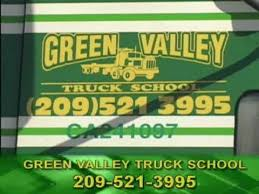 Green Valley Truck School logo