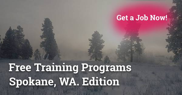 Free Training Programs in Spokane