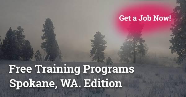 Free Training Programs in Spokane, WA