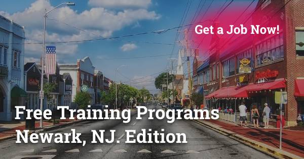 Free Training Programs in Newark, NJ