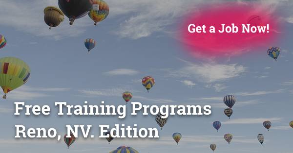 Free Training Programs in Reno, NV