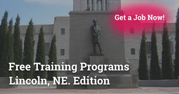 Free Training Programs in Lincoln, NE