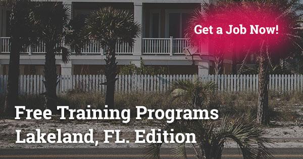 Free Training Programs in Lakeland, F