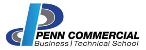 Penn Commercial Business/Technical School logo