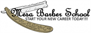 Mesa Barber School logo