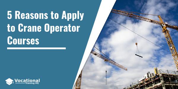 Apply to Crane Operator Courses