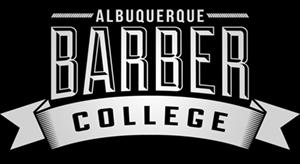 Albuquerque Barber College logo
