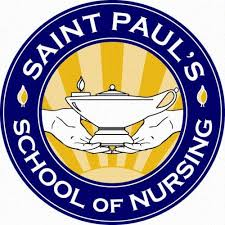 St Paul's School of Nursing logo