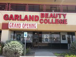 Garland Beauty College logo