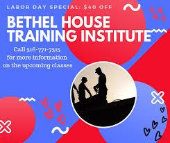 Bethel House Training Institute logo