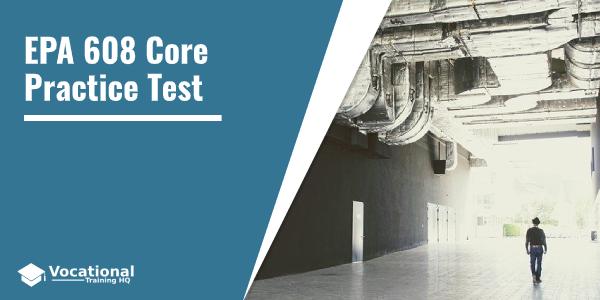 EPA 608 Core Practice Test