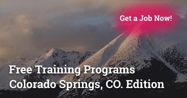 Free Training Programs in Colorado Springs, CO