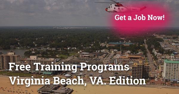 Free Training Programs in Virginia Beach, VA