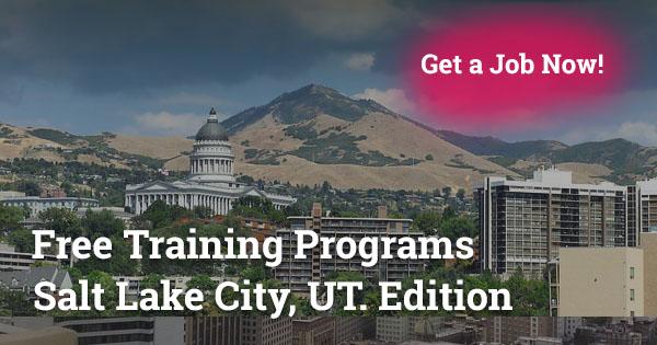 Free Training Programs in Salt Lake City, UT
