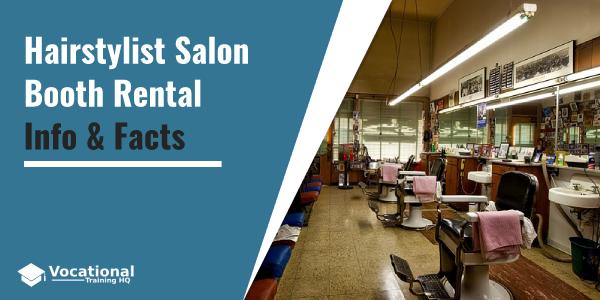Hairstylist Salon Booth Rental