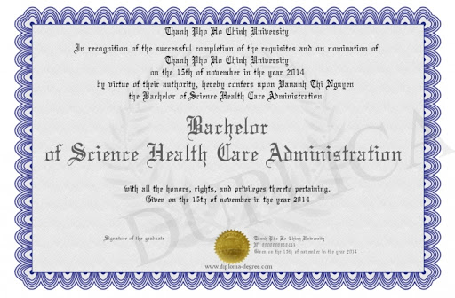 Healthcare Administrator Certification